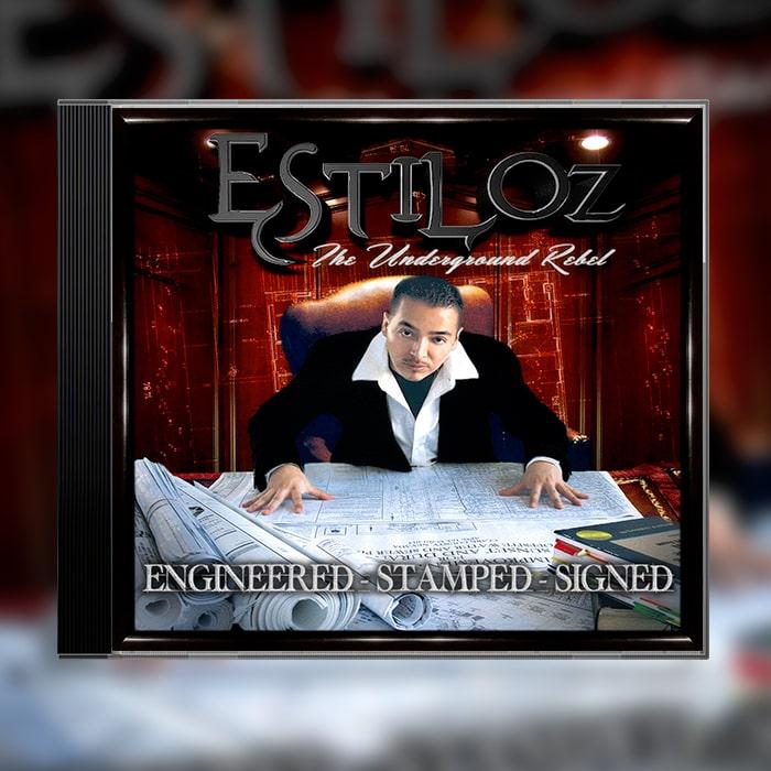 Grafik Design Album Cover Estiloz - Engineered Stamped Signed