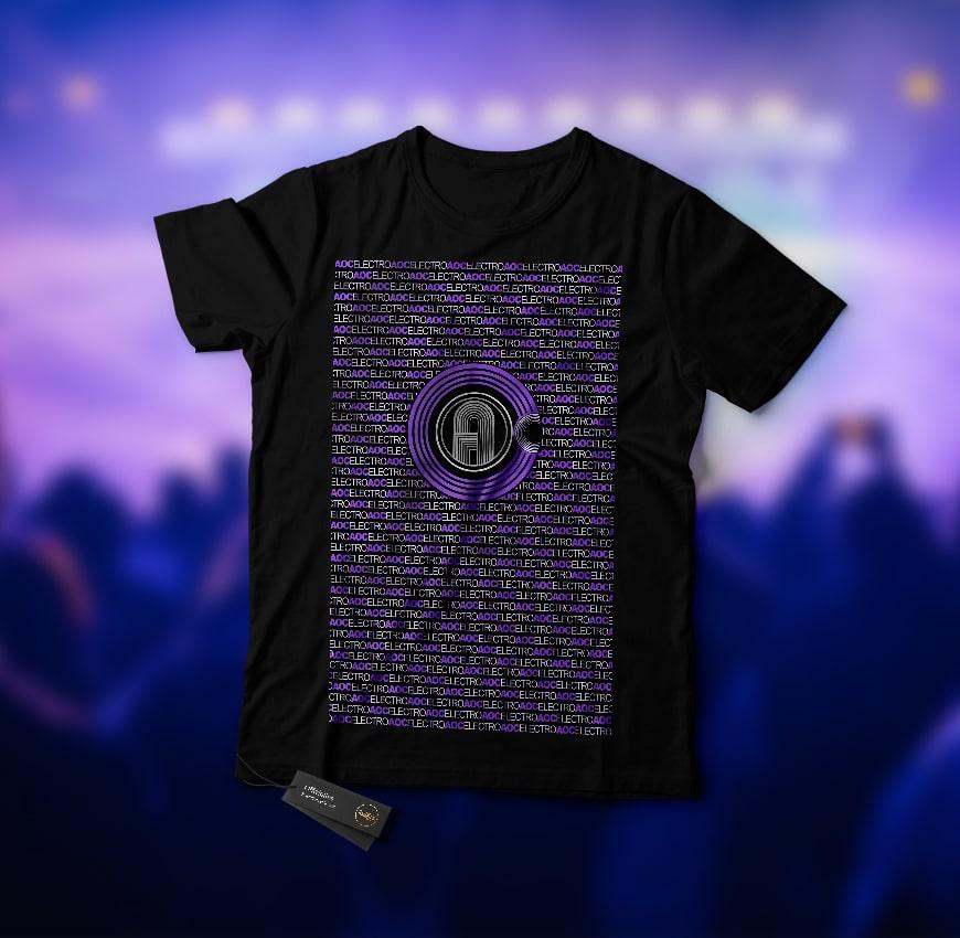 Grafik Design AOC Electro P/B T-Shirt
