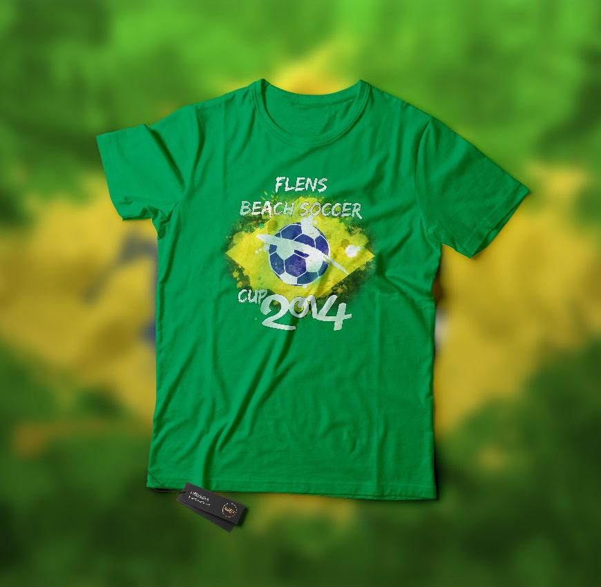 Flens BeachSoccer T-Shirt 2014