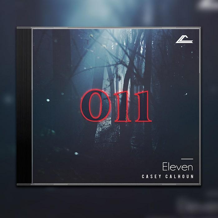 Grafik Design Album Cover Casey Calhoun – Eleven