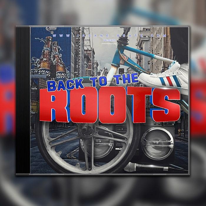 Grafik Design Album Cover Insane Beatz - Back to the Roots