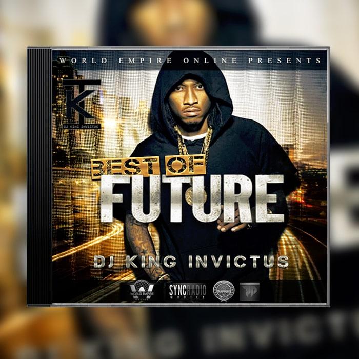 Grafik Design Album Cover DJ King Invictus - Best of Future
