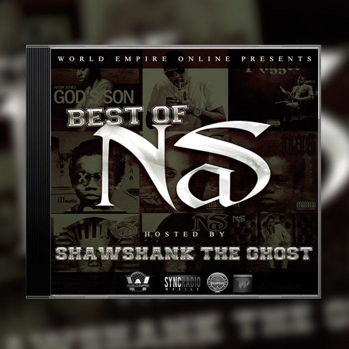 Grafik Design Album Cover DJ King Invictus - Best of Nas