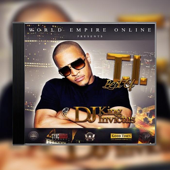 Grafik Design Album Cover DJ King Invictus – Best of T.I.