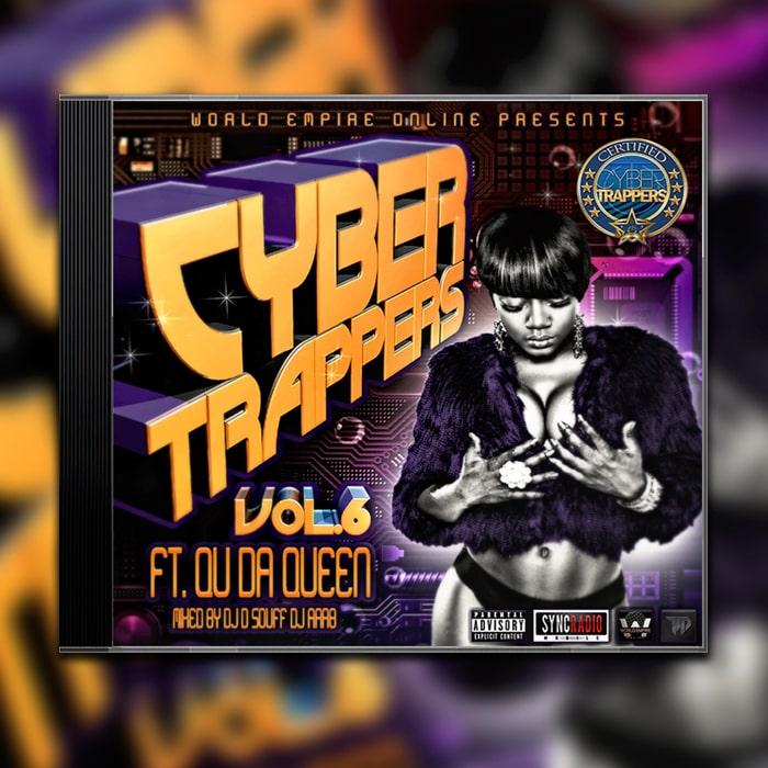 Grafik Design Album Cover World Empire Online - Cyber Trappers Vol.6