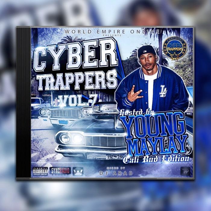 Grafik Design Album Cover World Empire Online - Cyber Trappers Vol.7