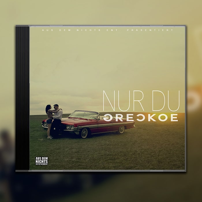 Grafik Design Album Cover Greckoe – Nur Du