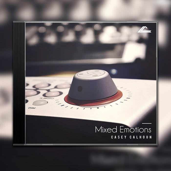Grafik Design Album Cover Casey Calhoun – Mixed Emotions