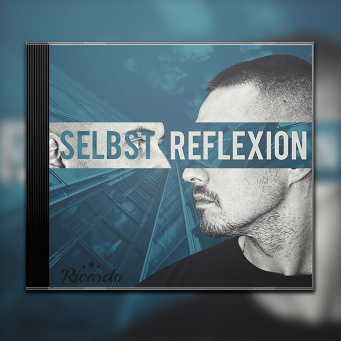 Grafik Design Album Cover Ricardo - Selbstreflexion