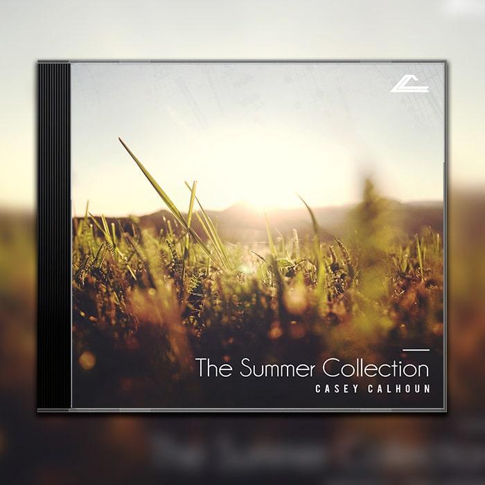 Grafik Design Album Cover Casey Calhoun – Summer Collection