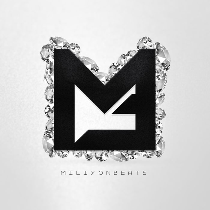 Grafik Design Logo Miliyon Beats