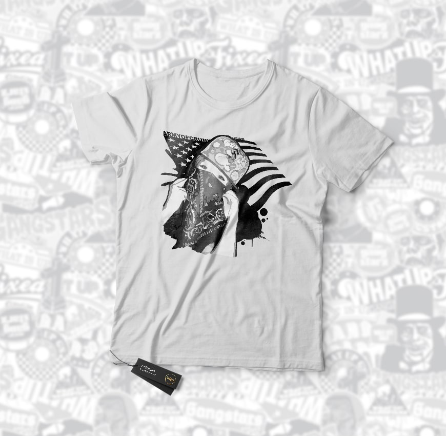 Grafik Design AOC ArmyofCrunk T-Shirt 2009