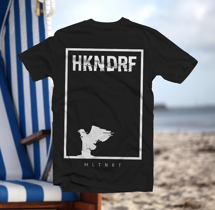 Grafik Design HKNDRF Adler T-Shirt