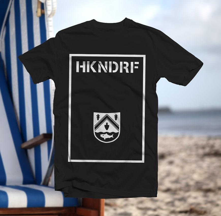 Grafik Design HKNDRF Wappen T-Shirt