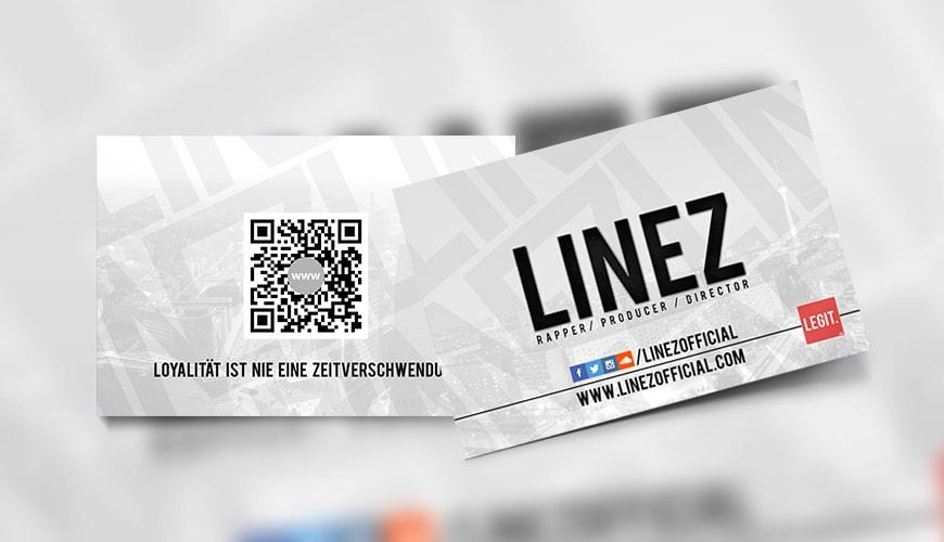 Visitenkarte Linez