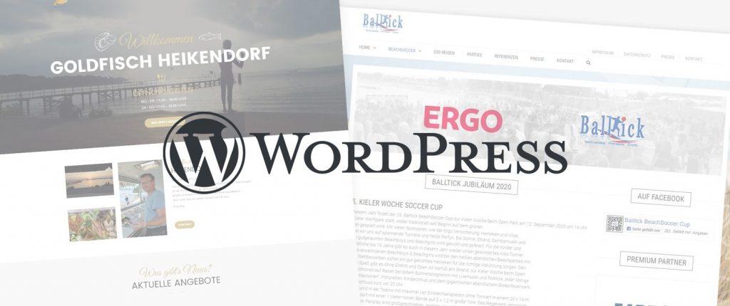 Professionelle Webseite mit Wordpress