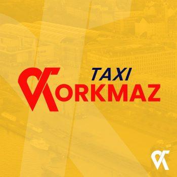 Grafik Design Logo Taxi Korkmaz